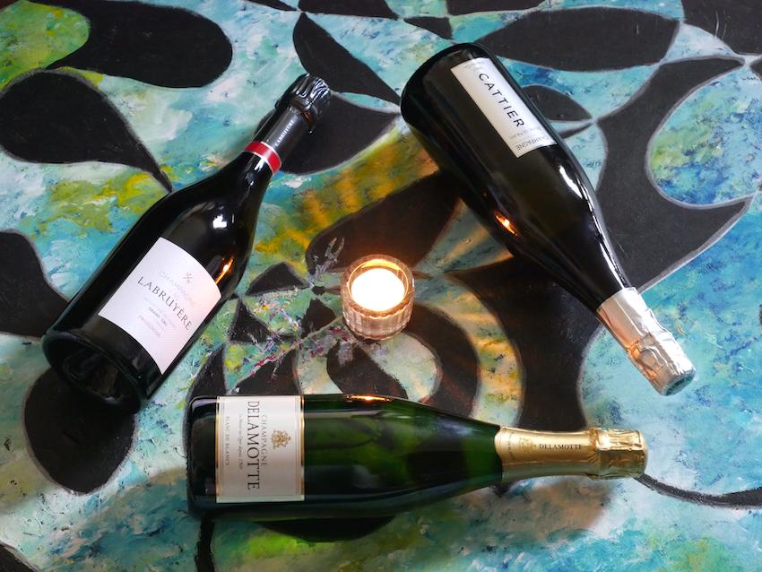 Champagne JM Labruyère / Champagne Delamotte / Champagne Cattier ©LuxuryTouch