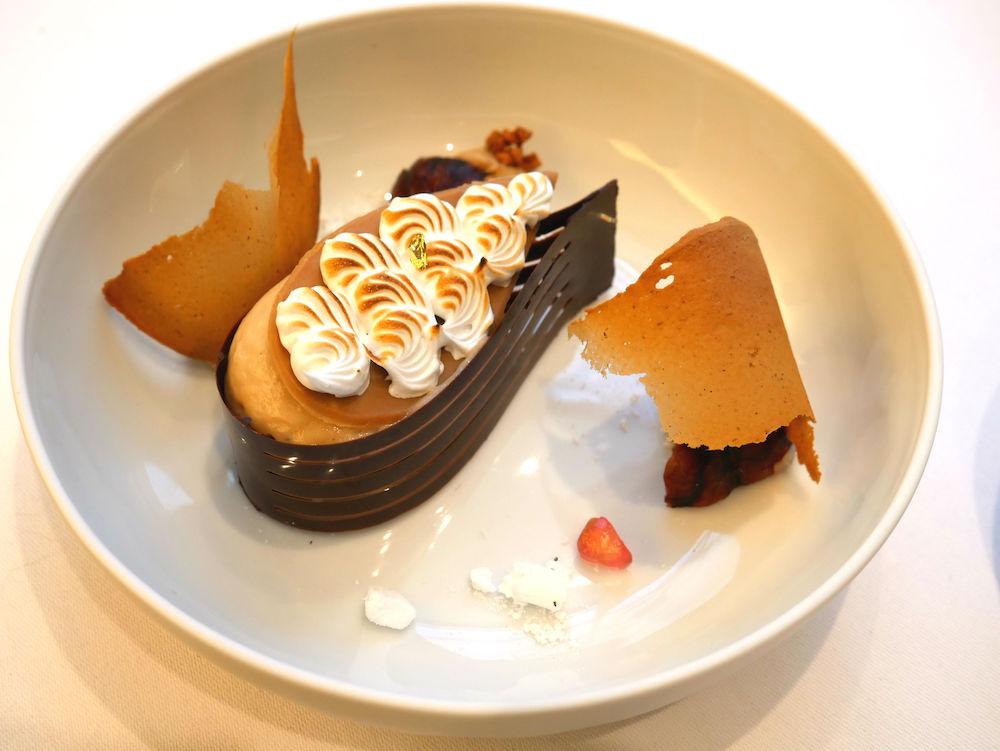Hautes Exigences LMDL- Restaurant Étude Paris 16 - Dessert Déclinaison Marrons & Châtaignes