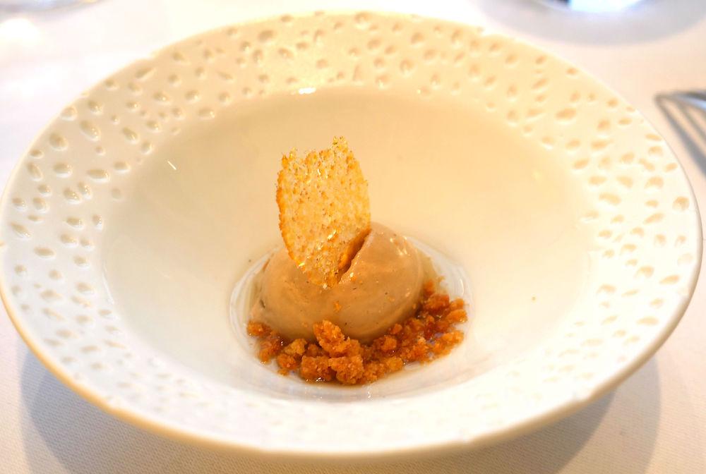 Hautes Exigences LMDL- Restaurant Étude Paris 16 - Dessert Sorbet Earl Grey