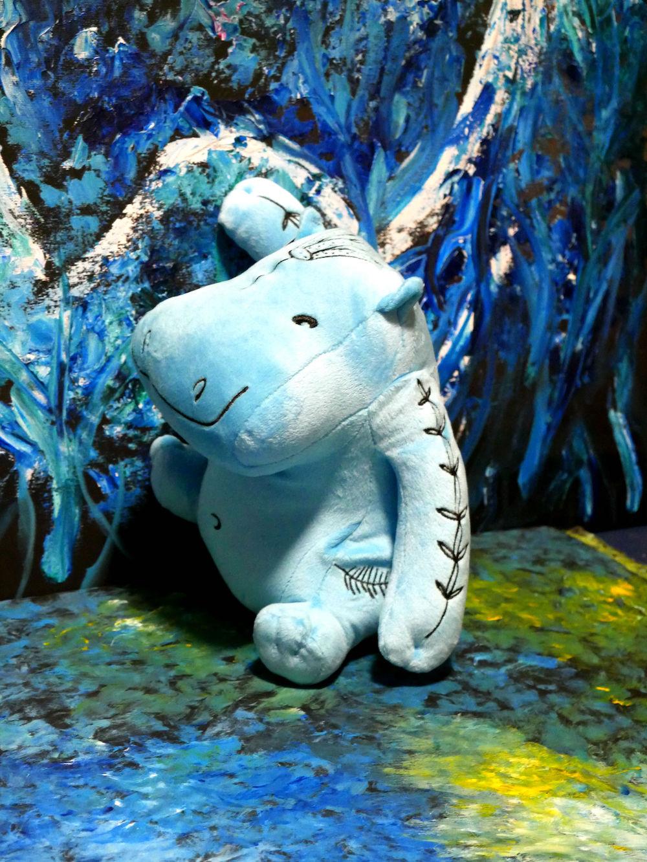 Peluche Hippopotame Grand Modèle, exclusivité librairie boutique du Louvre