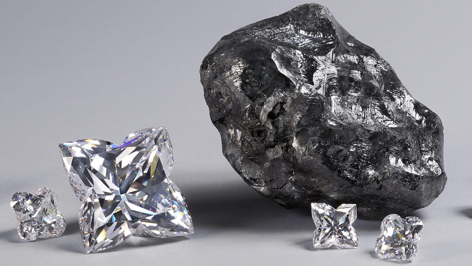 Le Sewelo Diamand de Louis Vuitton - Le 2ème plus gros diamant brut au monde