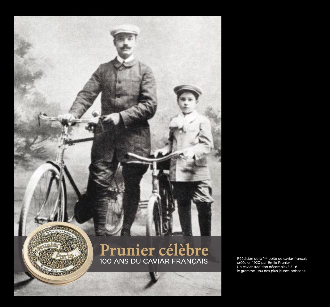 Manufacture Prunier Caviar 100 ans