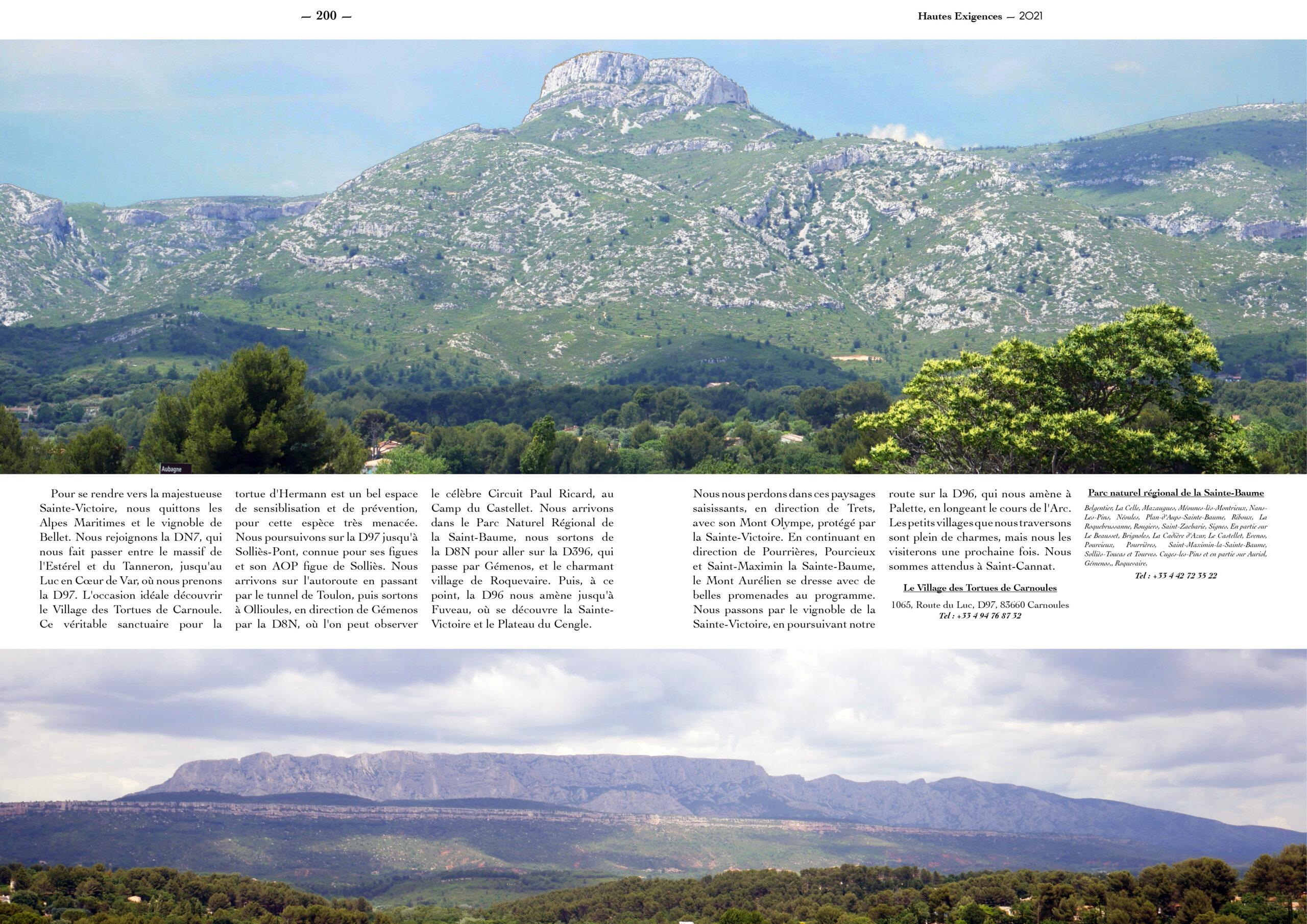 Hautes Exigences Magazine Hors Serie 2021 page 198-199