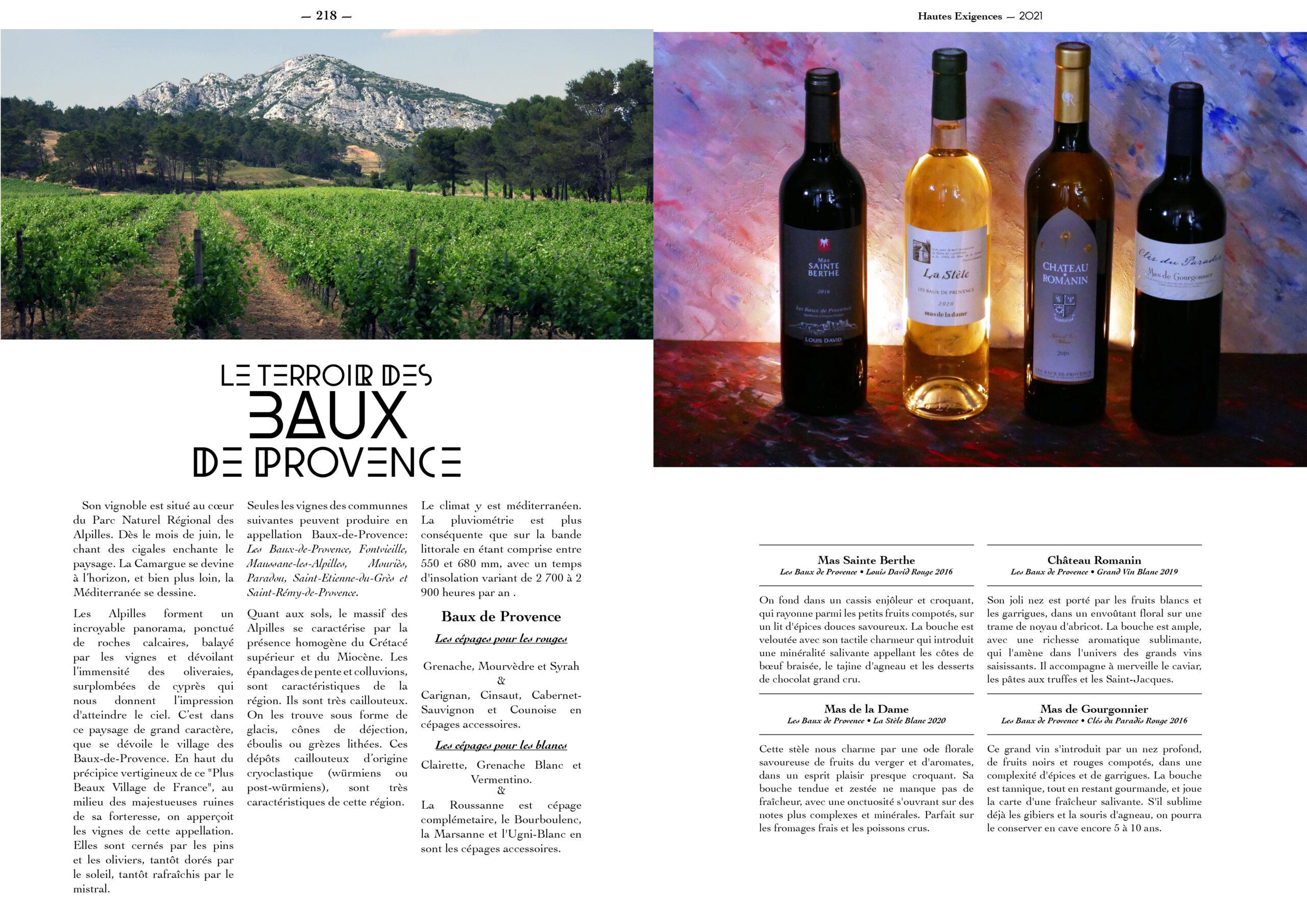 Hautes Exigences Magazine Hors Serie 2021 page 216-217