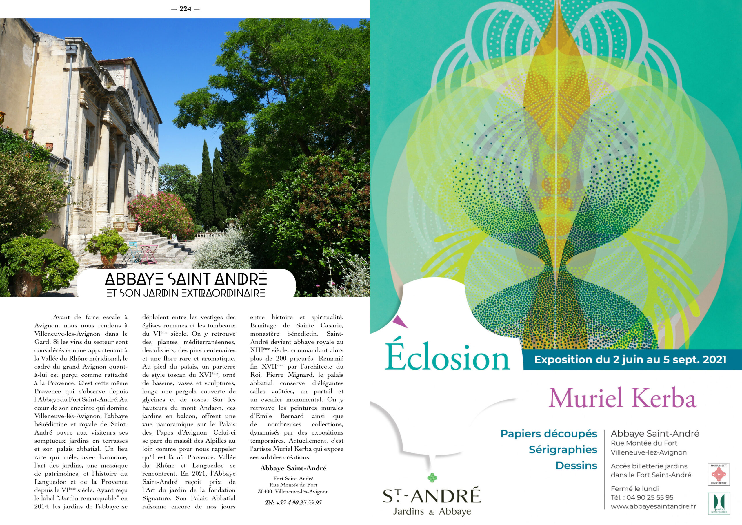 Hautes Exigences Magazine Hors Serie 2021 page 222-223