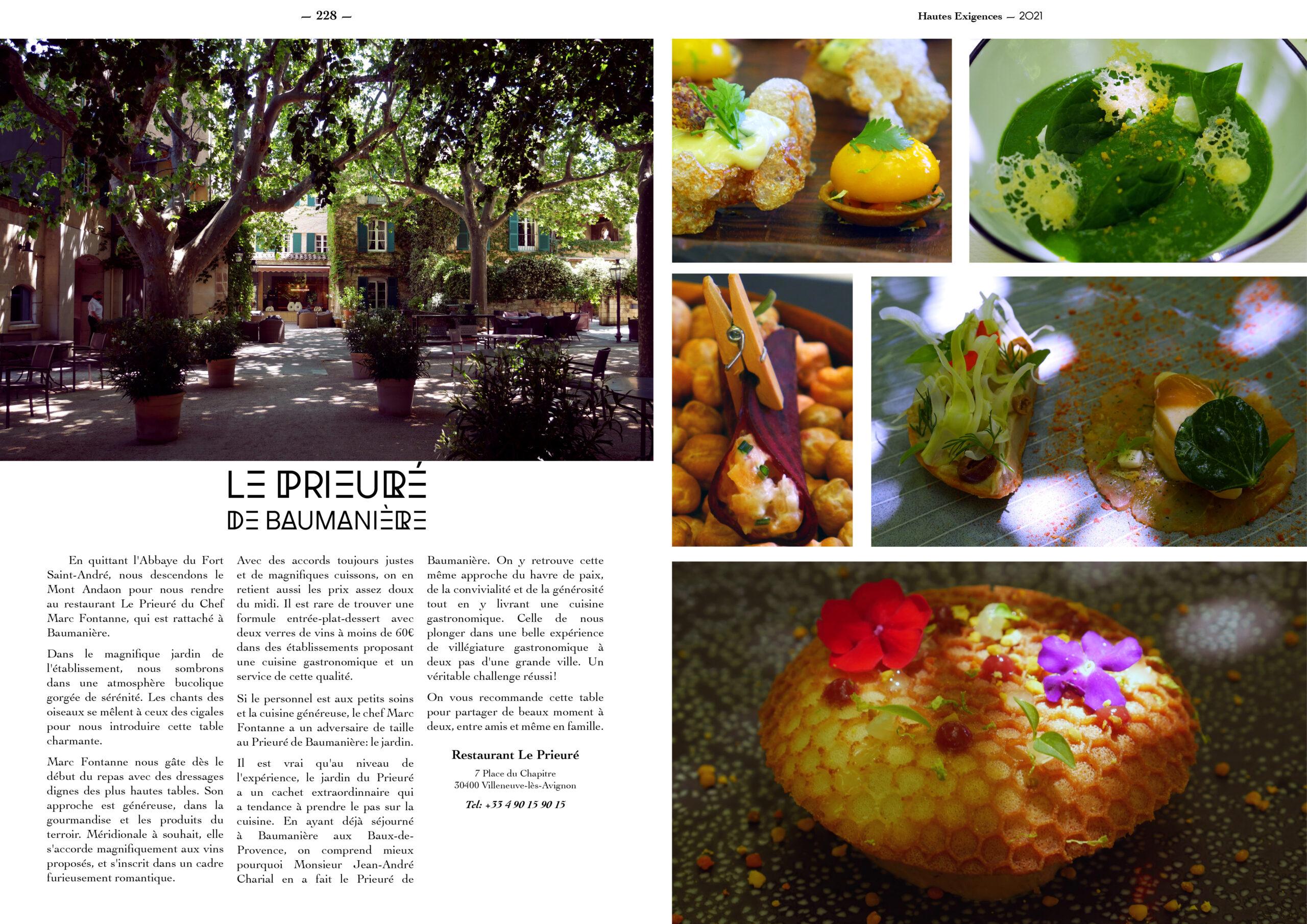 Hautes Exigences Magazine Hors Serie 2021 page 226-227