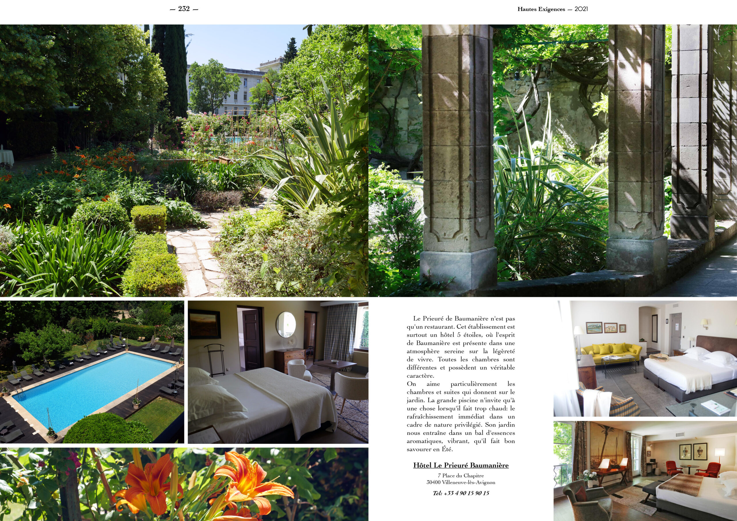 Hautes Exigences Magazine Hors Serie 2021 page 230-231