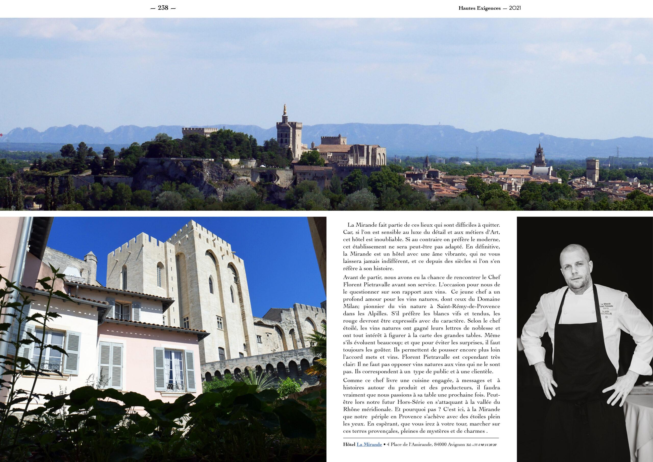 Hautes Exigences Magazine Hors Serie 2021 page 236-237