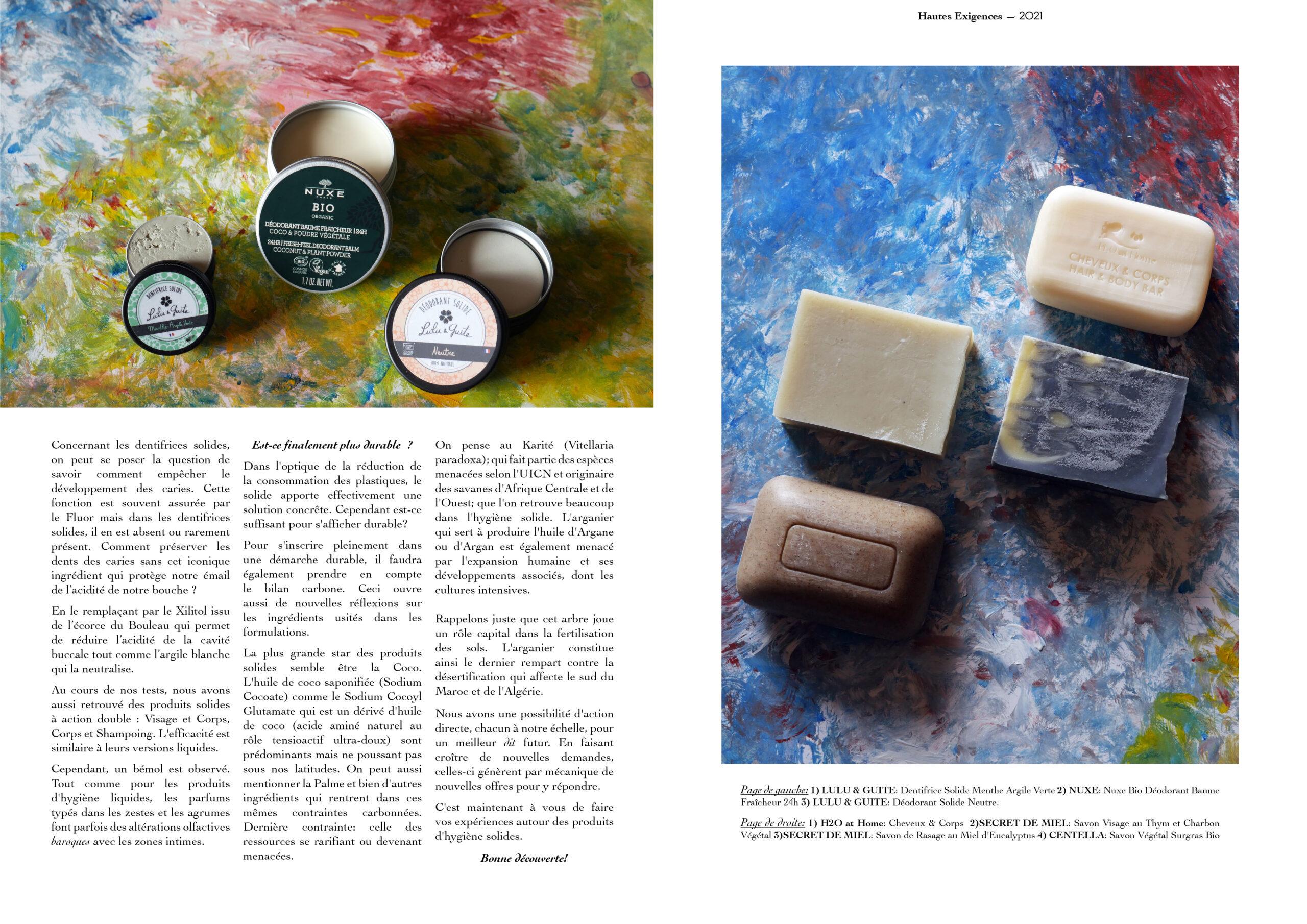 Hautes Exigences Magazine Hors Serie 2021 page 24-25