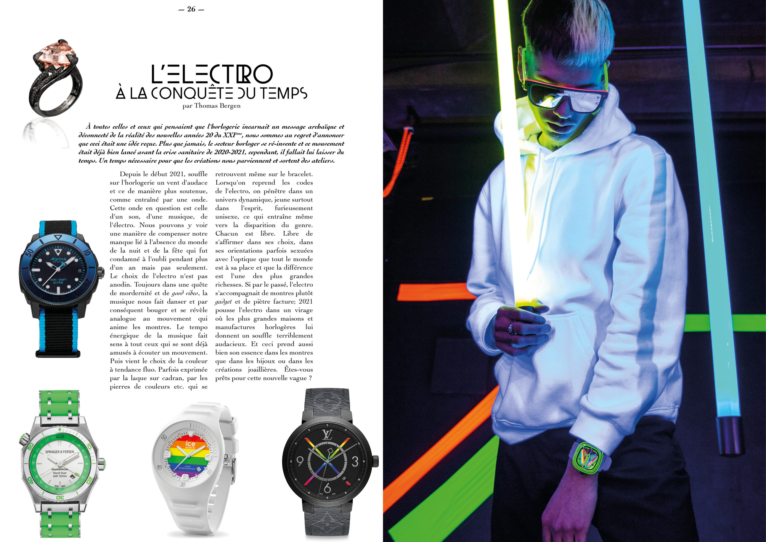 Hautes Exigences Magazine Hors Serie 2021 page 26-27