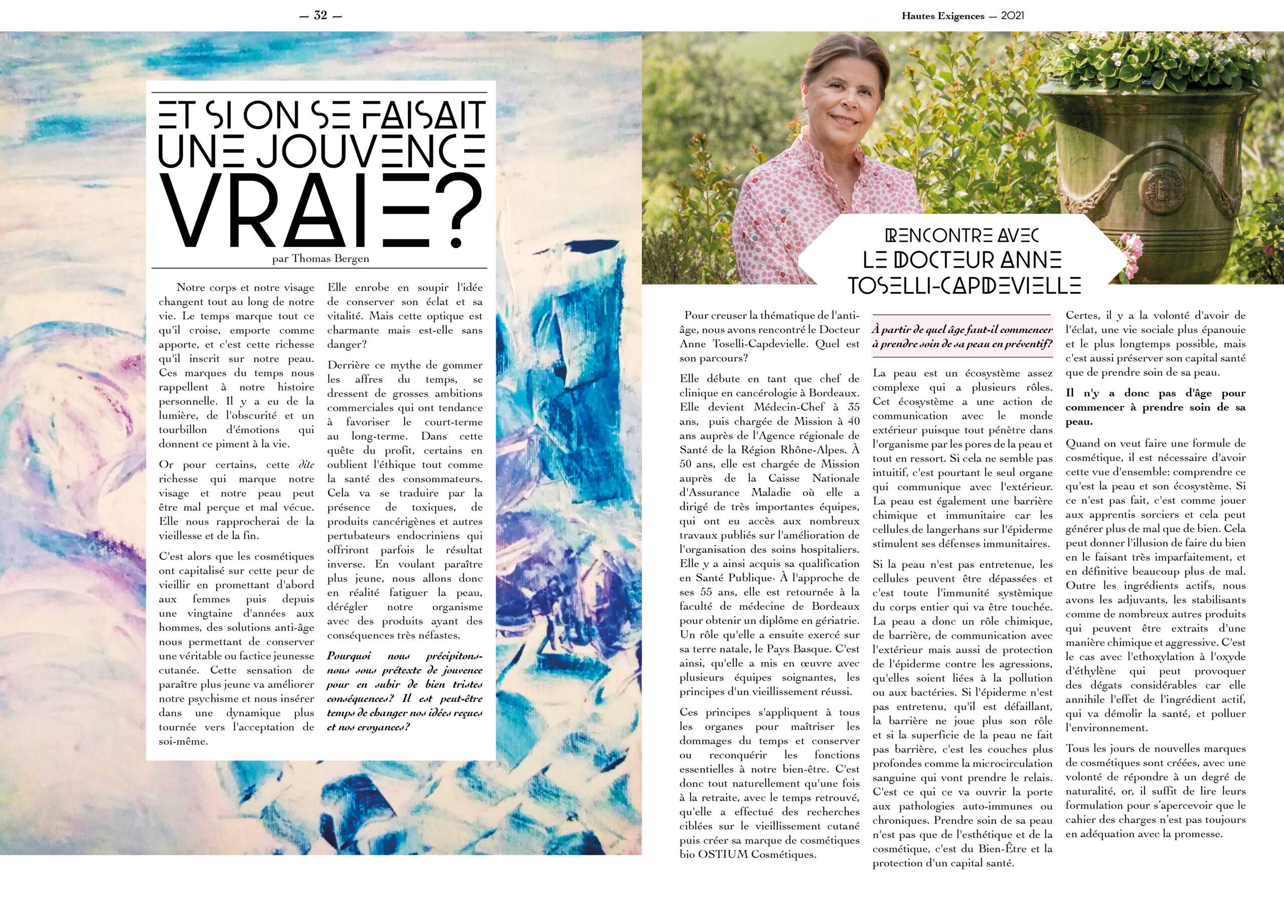 Hautes Exigences Magazine Hors Serie 2021 page 32-33