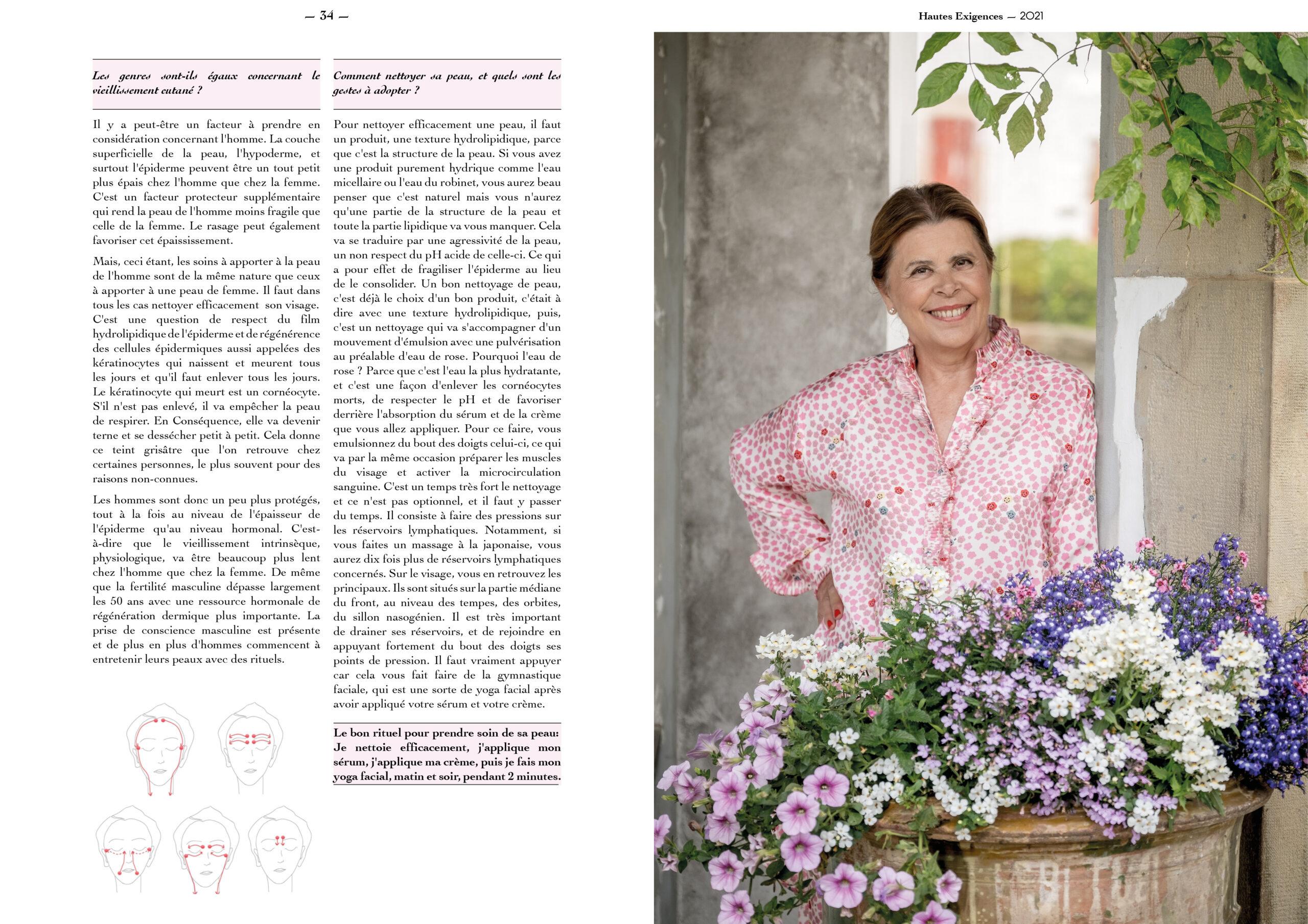 Hautes Exigences Magazine Hors Serie 2021 page 34-35