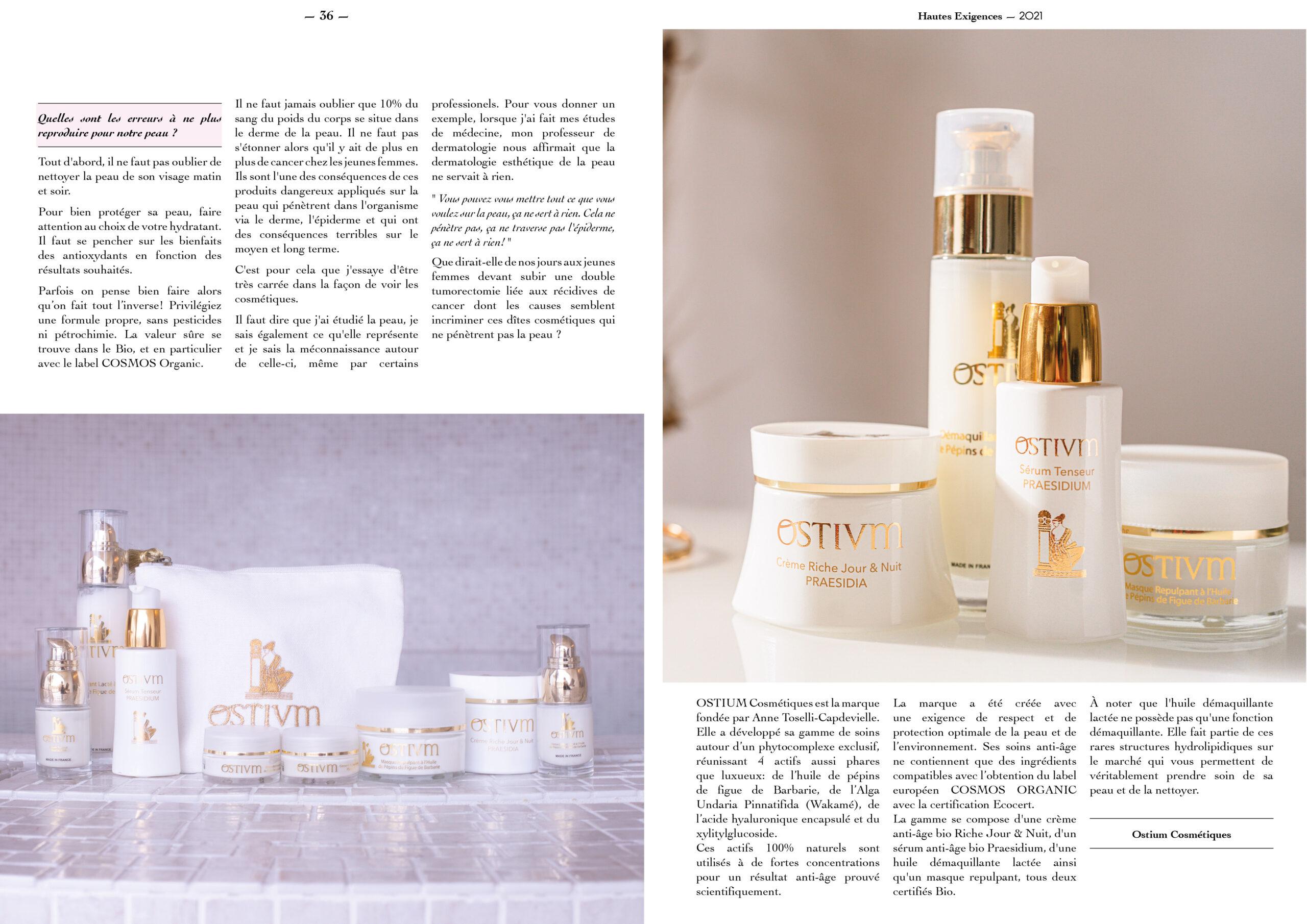 Hautes Exigences Magazine Hors Serie 2021 page 36-37