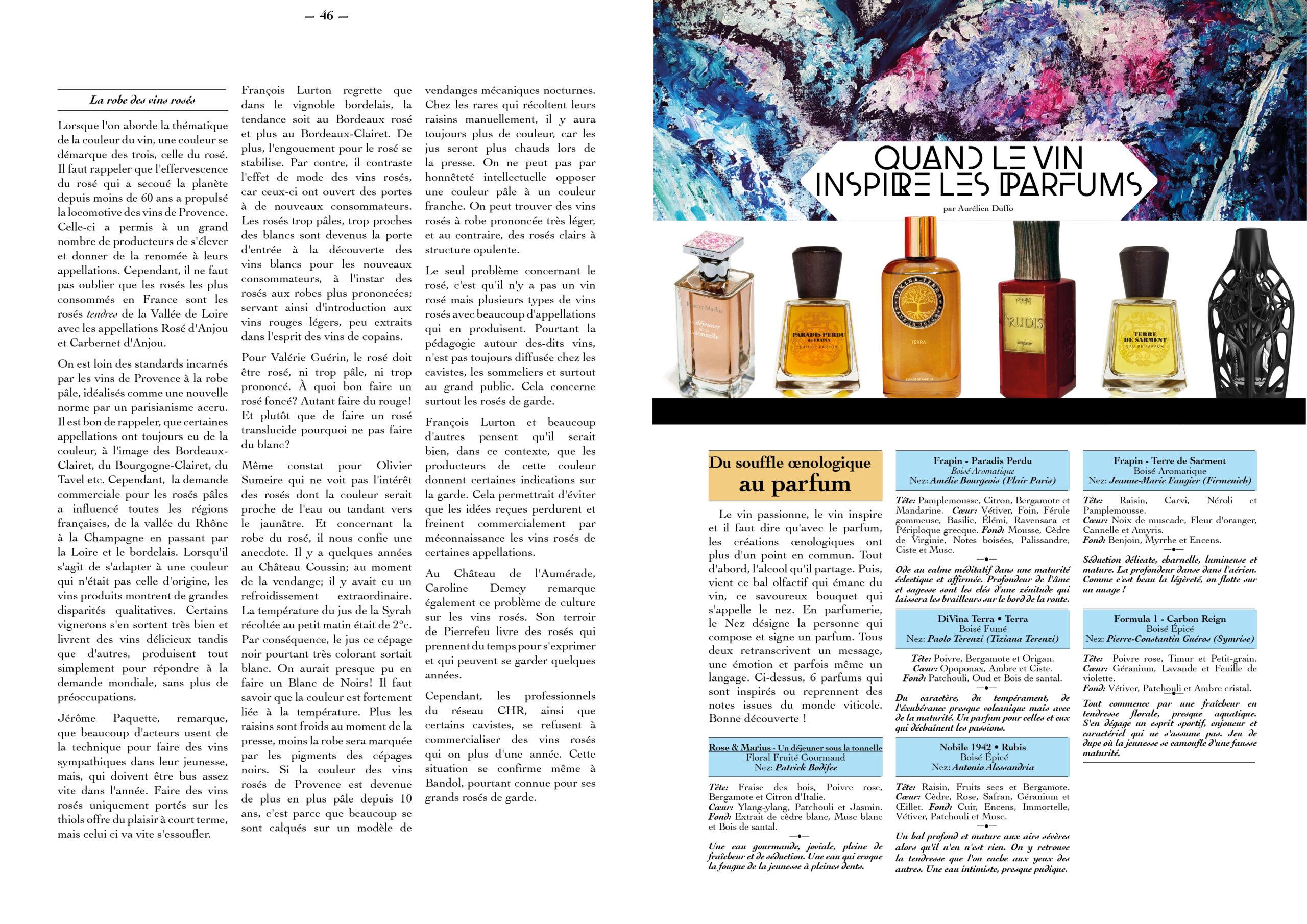 Hautes Exigences Magazine Hors Serie 2021 page 46-47
