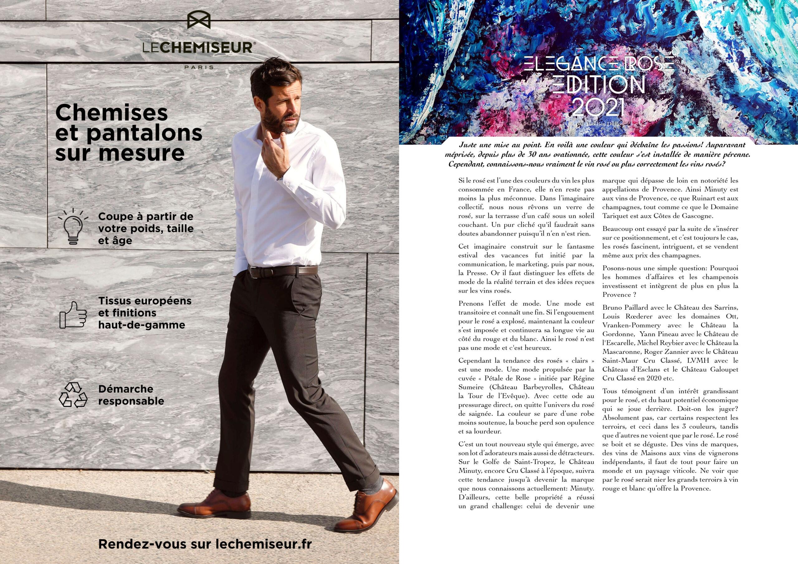 Hautes Exigences Magazine Hors Serie 2021 page 48-49