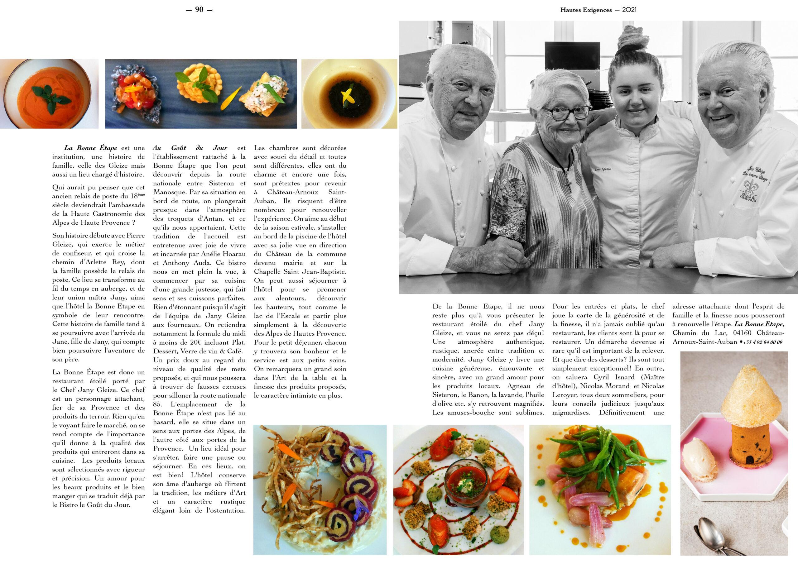 Hautes Exigences Magazine Hors Serie 2021 page 88-89