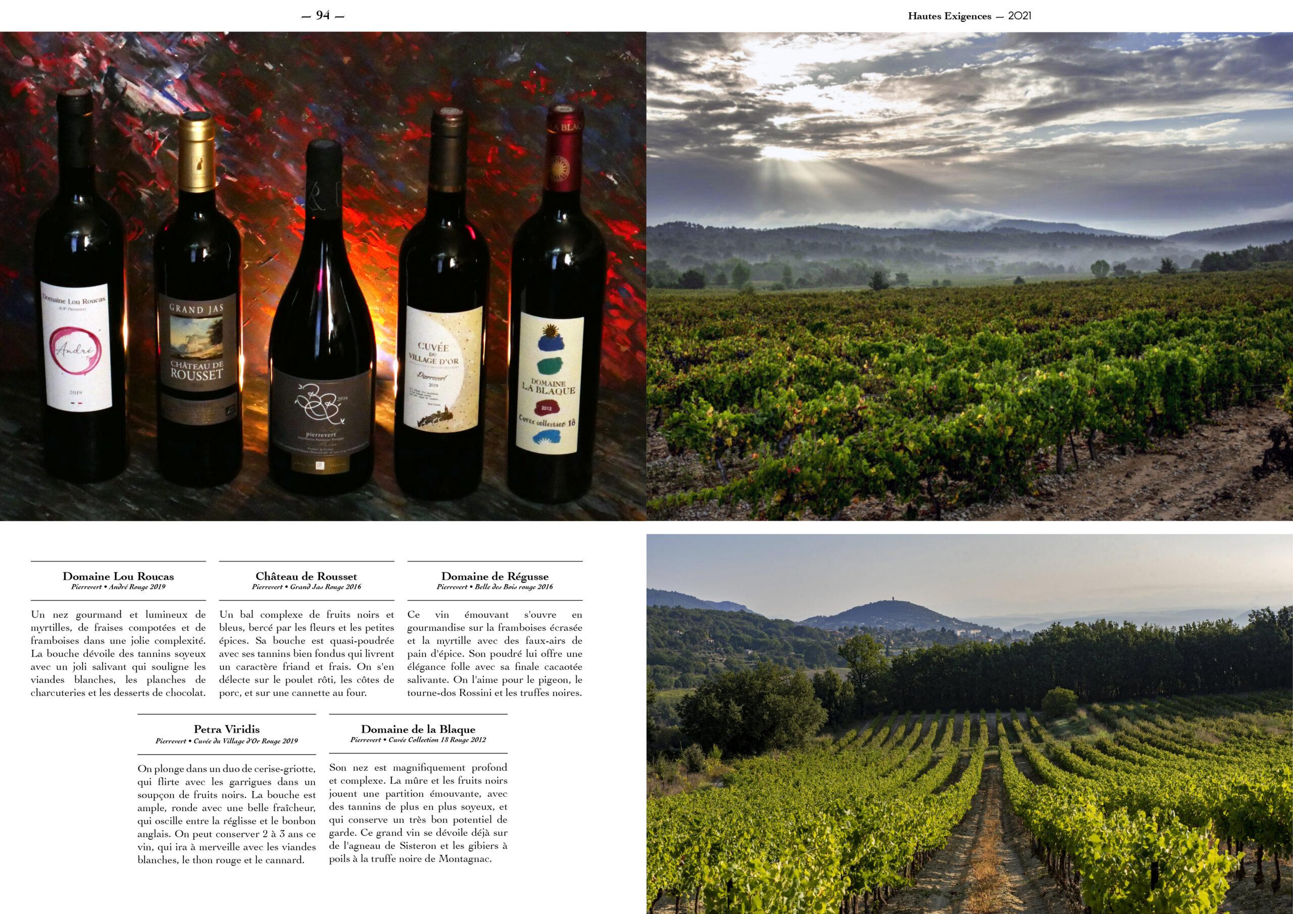 Hautes Exigences Magazine Hors Serie 2021 page 92-93