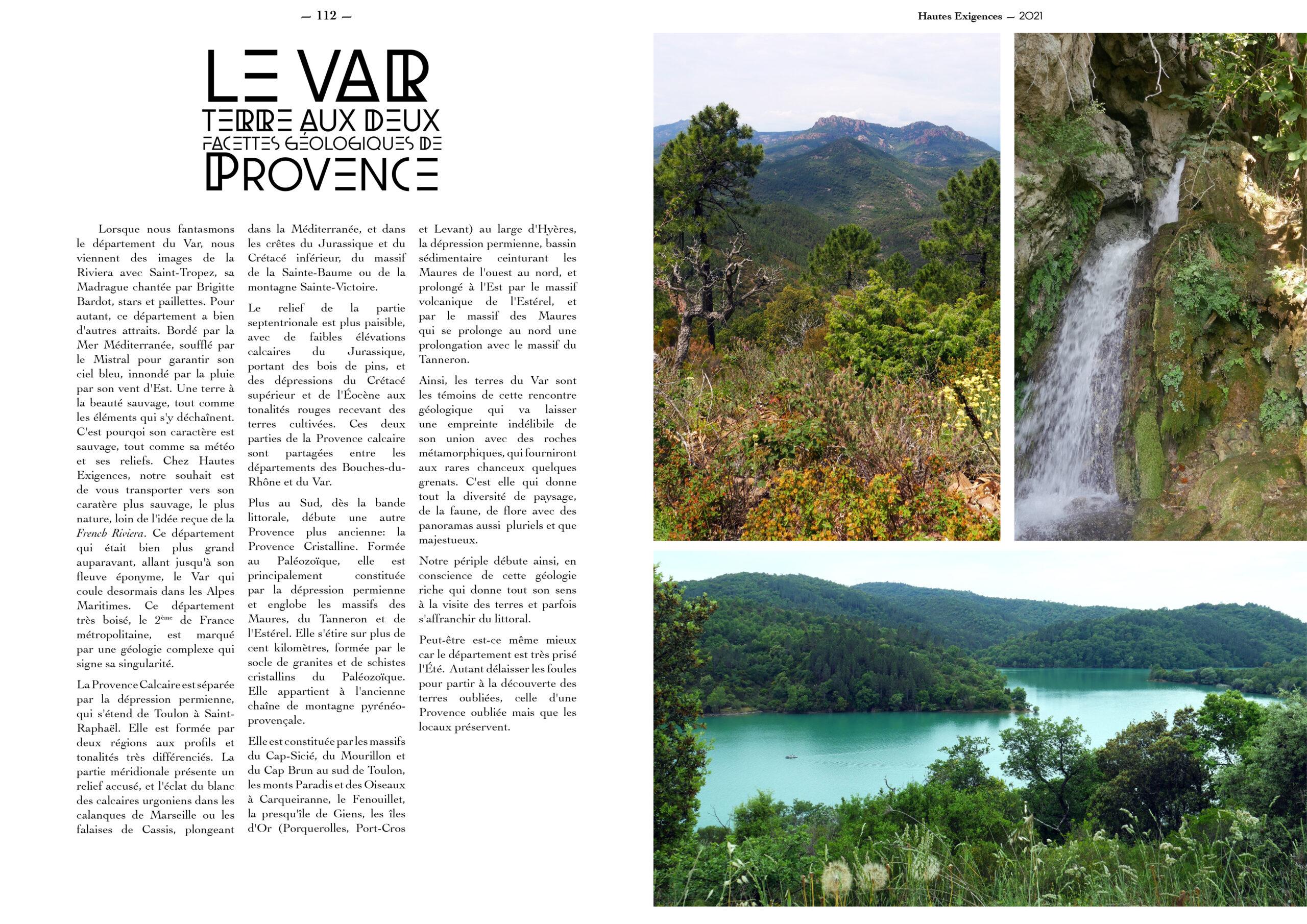 Hautes Exigences Magazine Hors Serie 2021 page 110-111