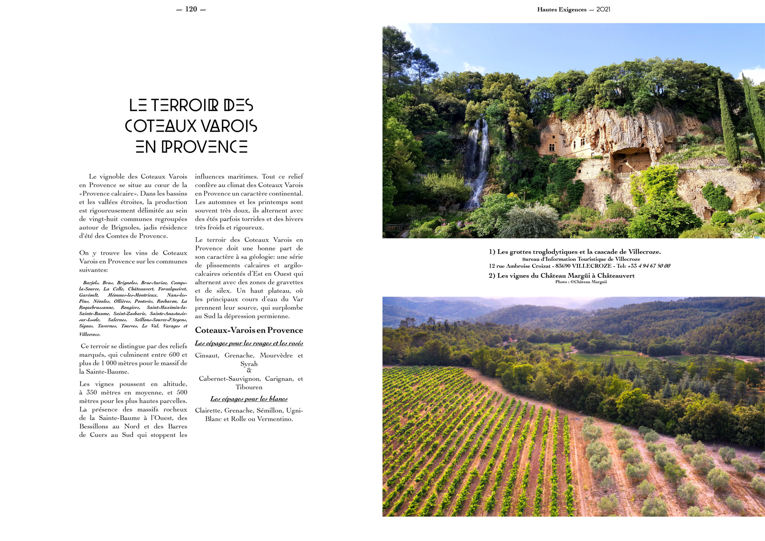 Hautes Exigences Magazine Hors Serie 2021 page 118-119