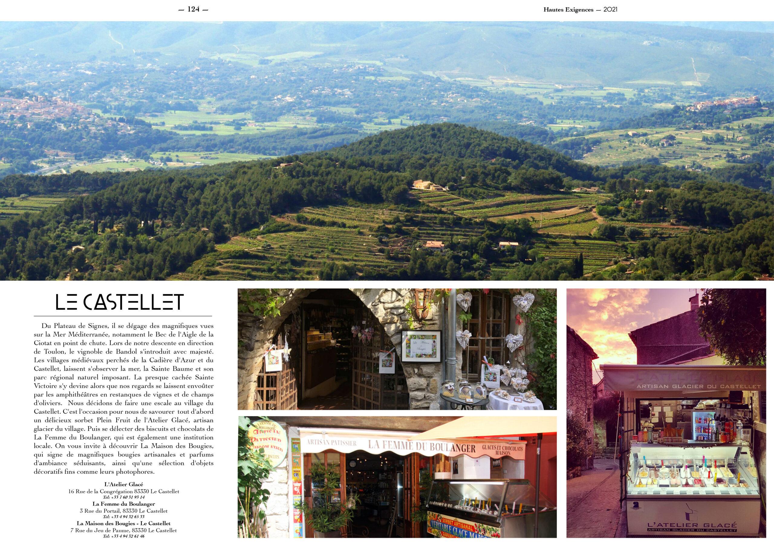 Hautes Exigences Magazine Hors Serie 2021 page 122-123