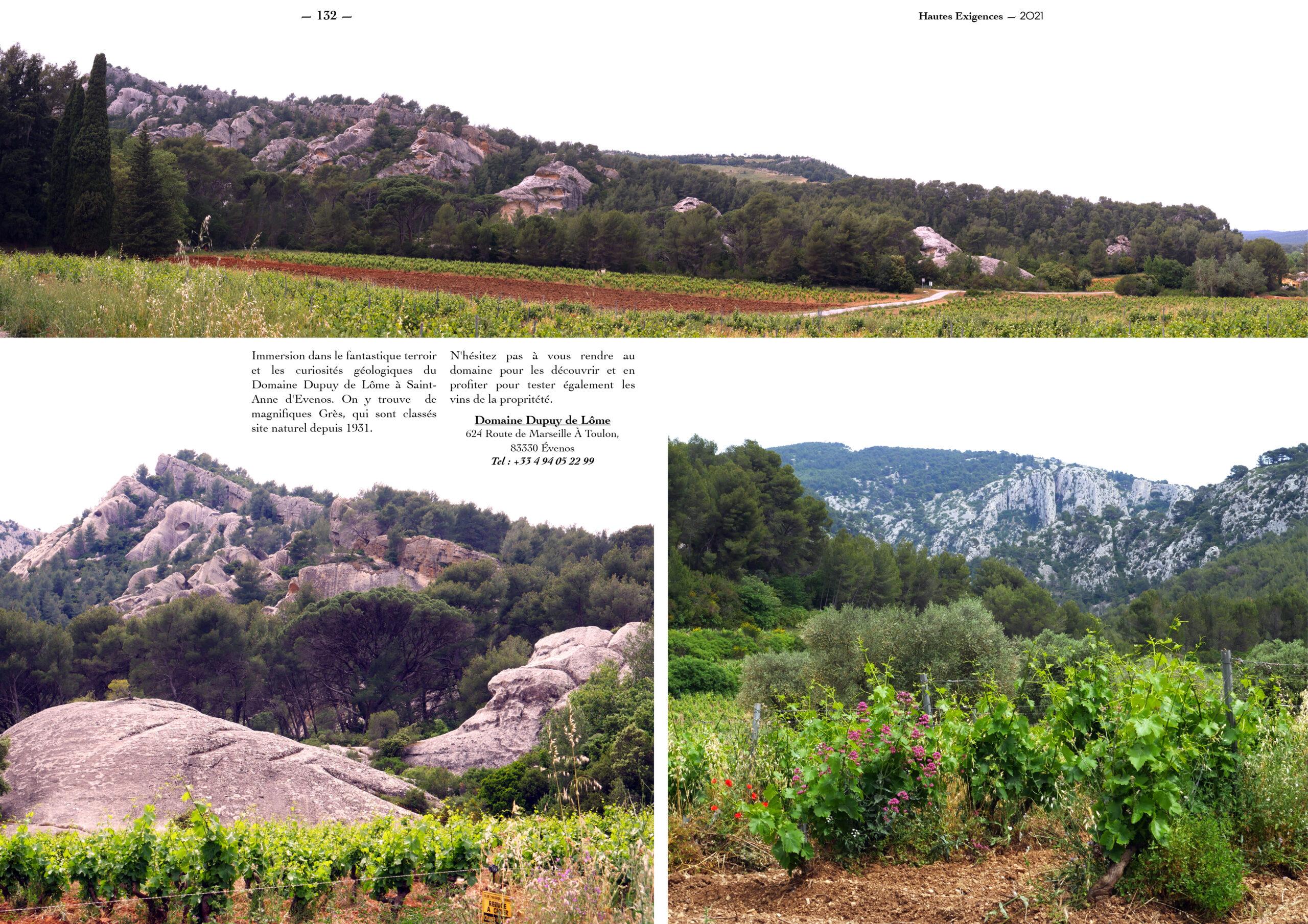Hautes Exigences Magazine Hors Serie 2021 page 130-131