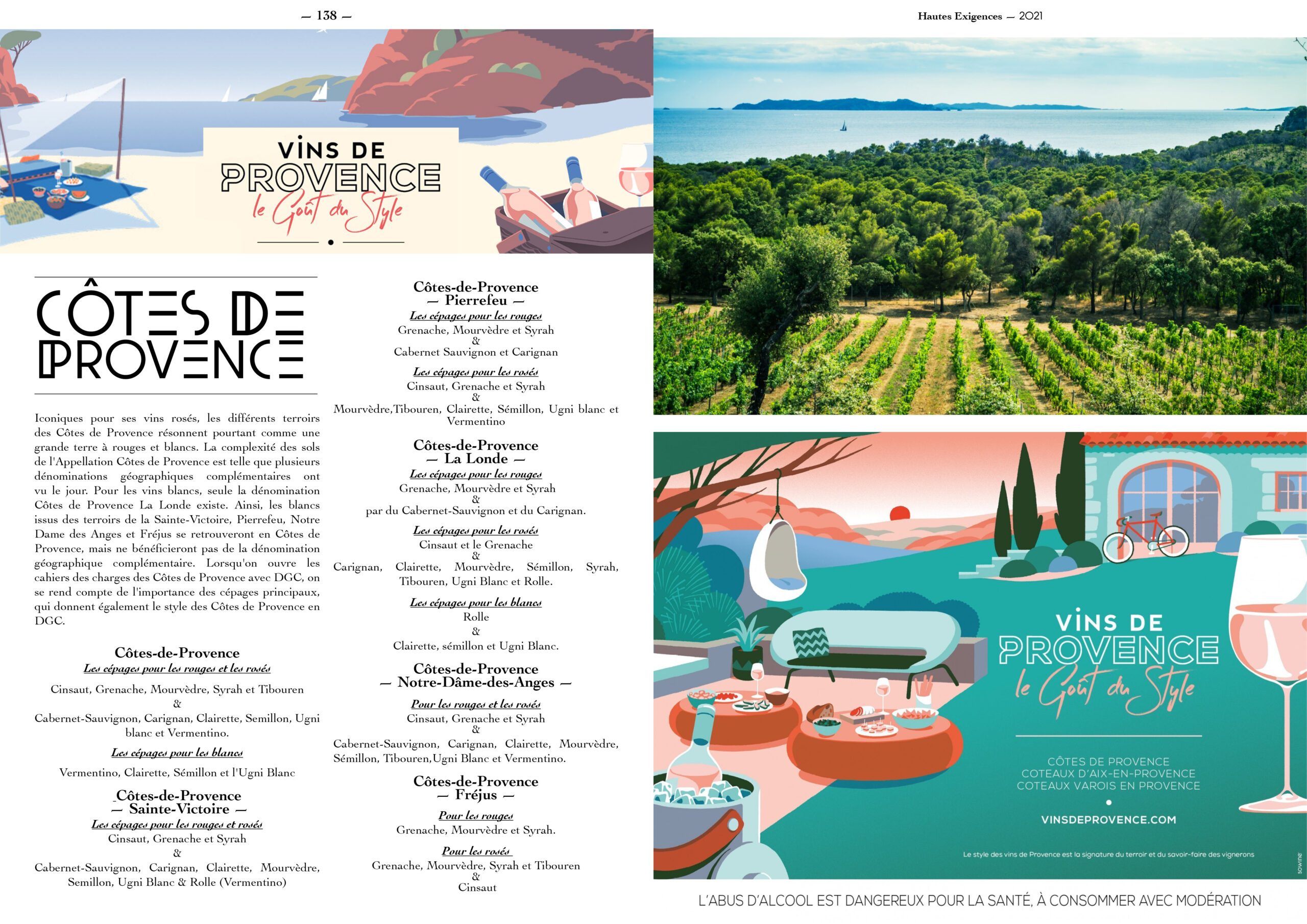 Hautes Exigences Magazine Hors Serie 2021 page 136-137