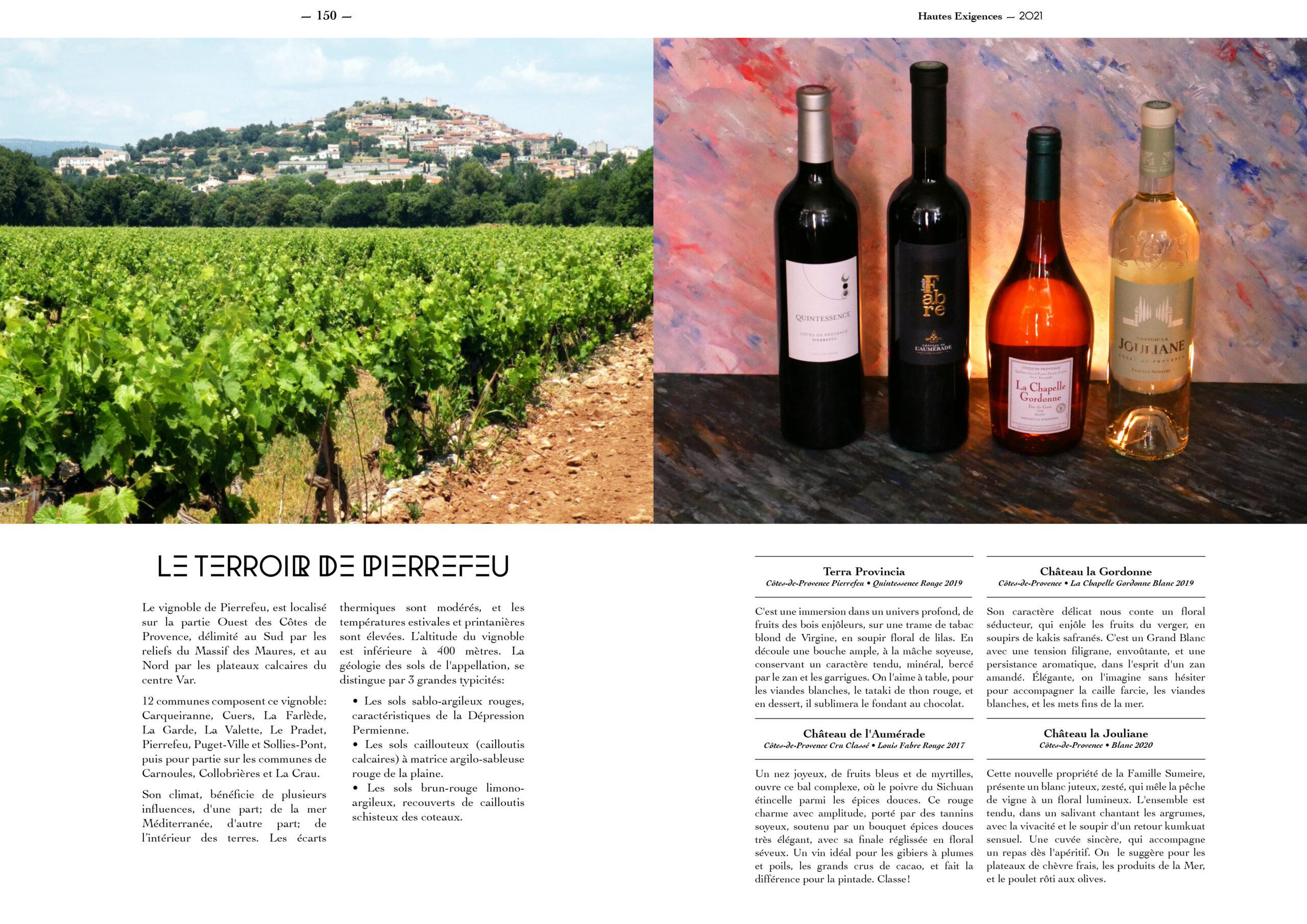 Hautes Exigences Magazine Hors Serie 2021 page 148-149