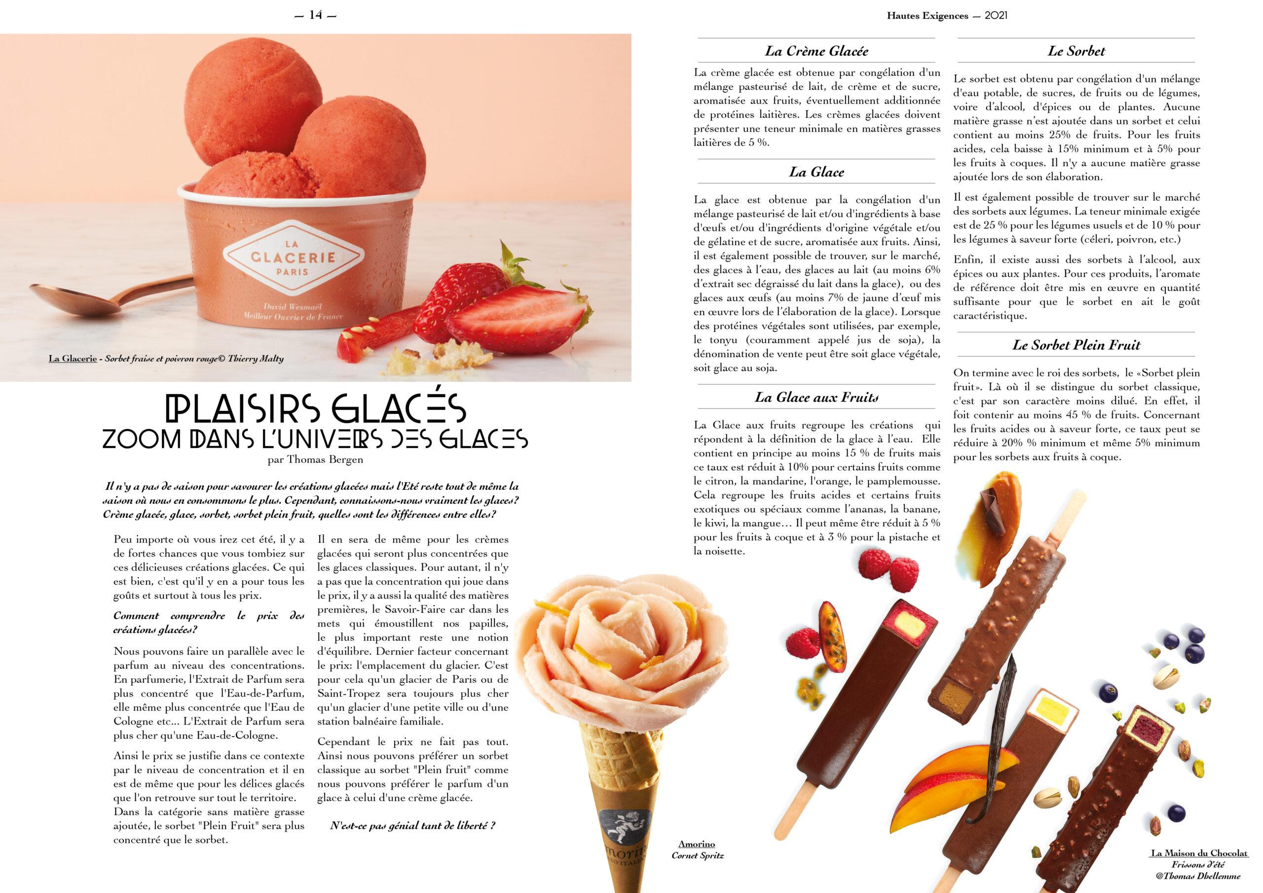 Hautes Exigences Magazine Hors Serie 2021 page 14-15
