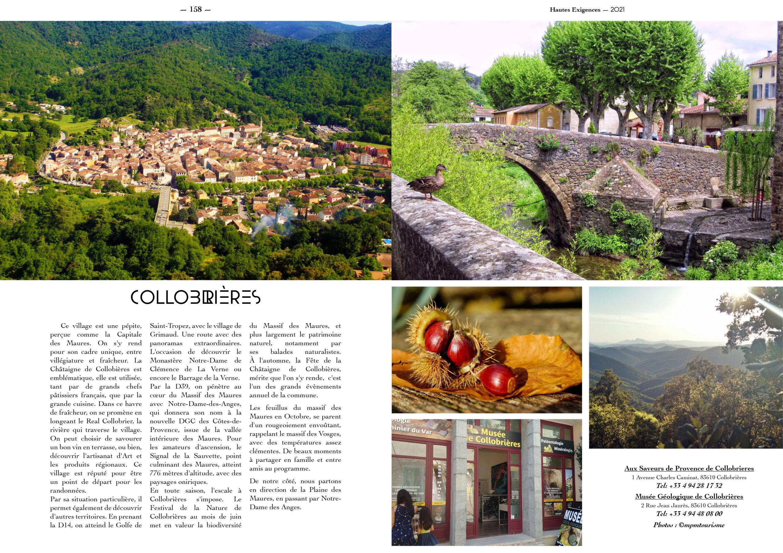 Hautes Exigences Magazine Hors Serie 2021 page 156-157