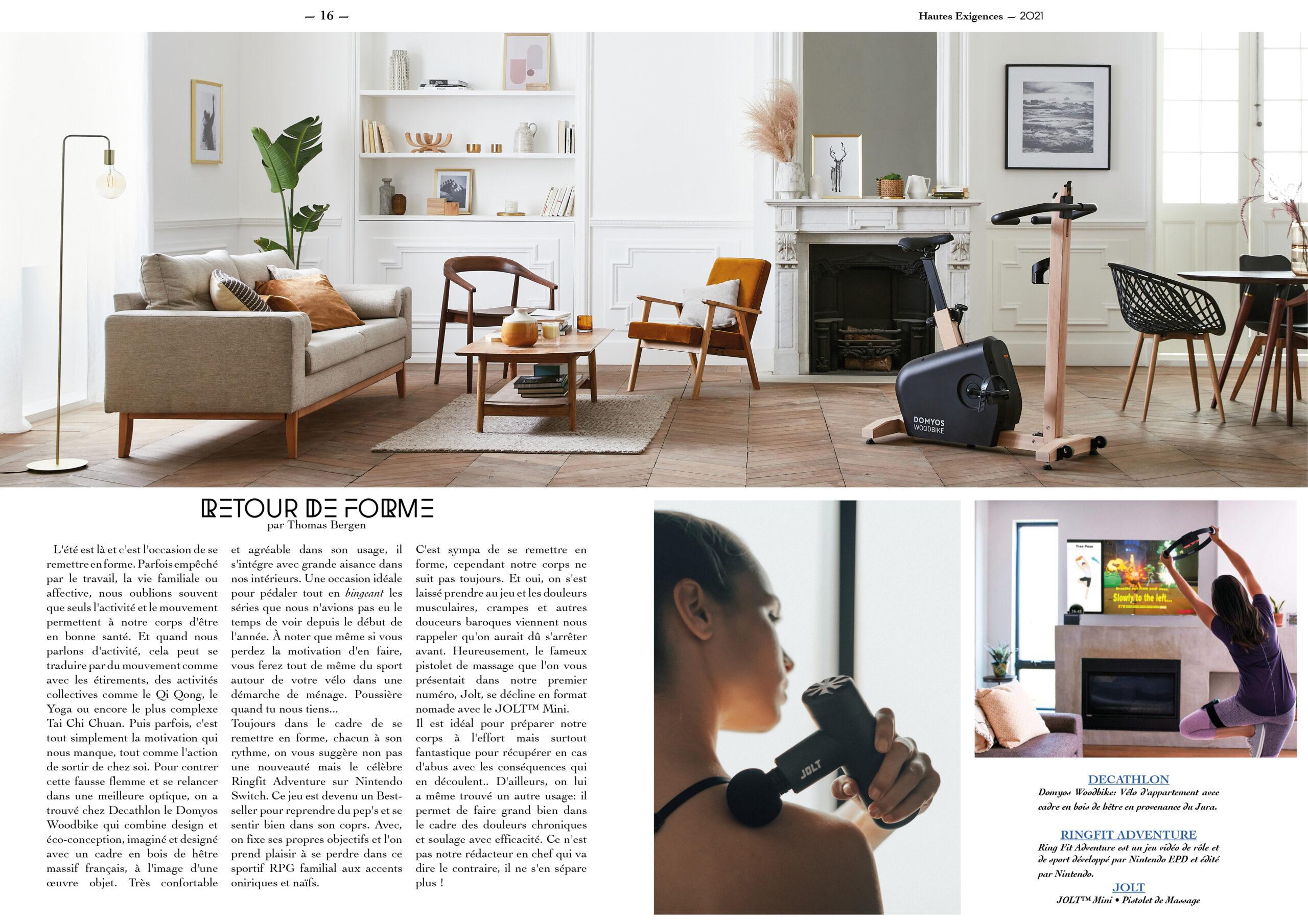 Hautes Exigences Magazine Hors Serie 2021 page 16-17