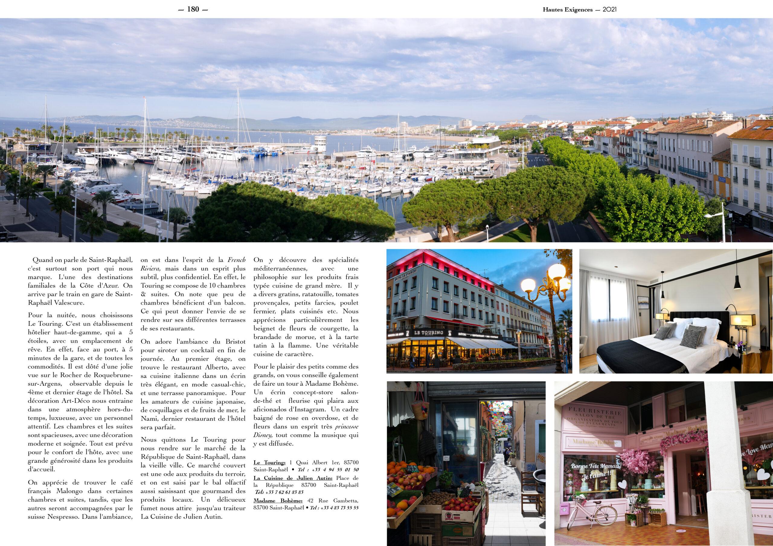 Hautes Exigences Magazine Hors Serie 2021 page 178-179