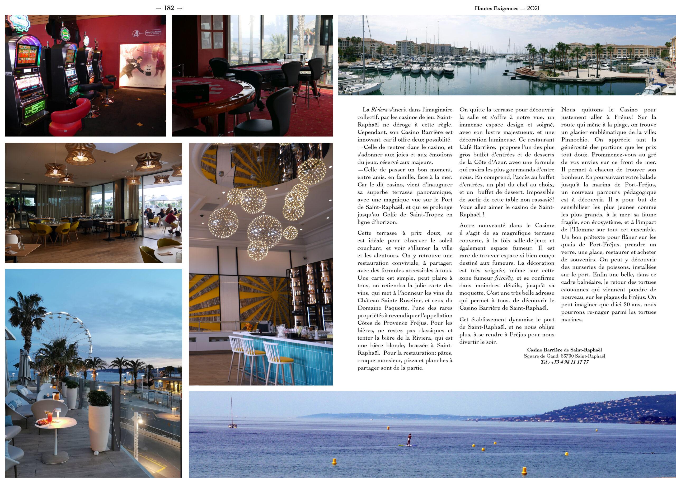 Hautes Exigences Magazine Hors Serie 2021 page 180-181