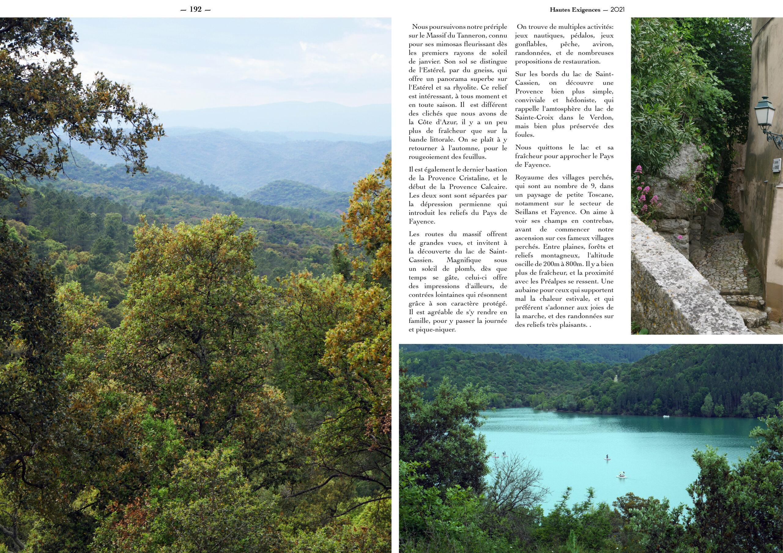 Hautes Exigences Magazine Hors Serie 2021 page 190-191