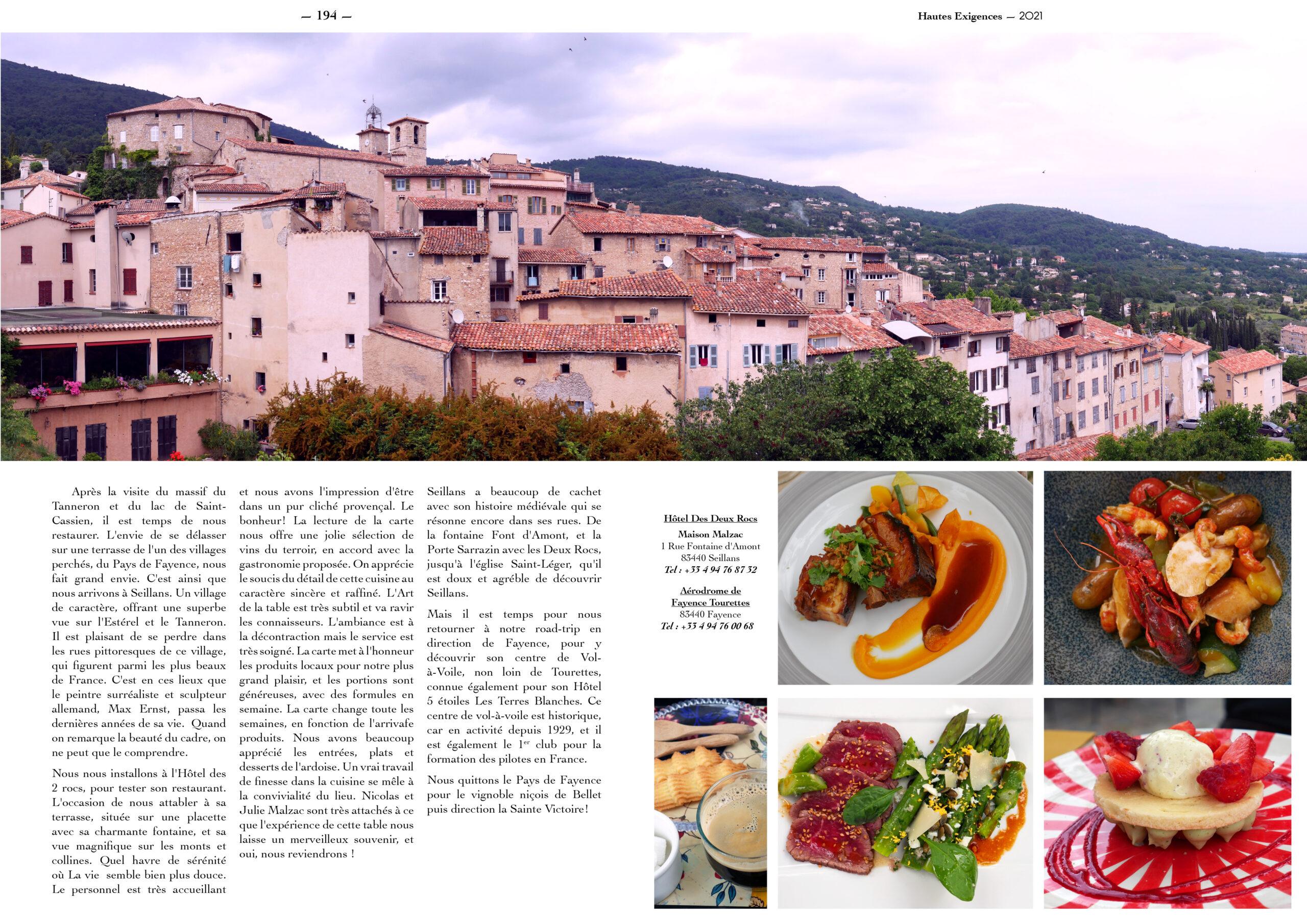 Hautes Exigences Magazine Hors Serie 2021 page 192-193