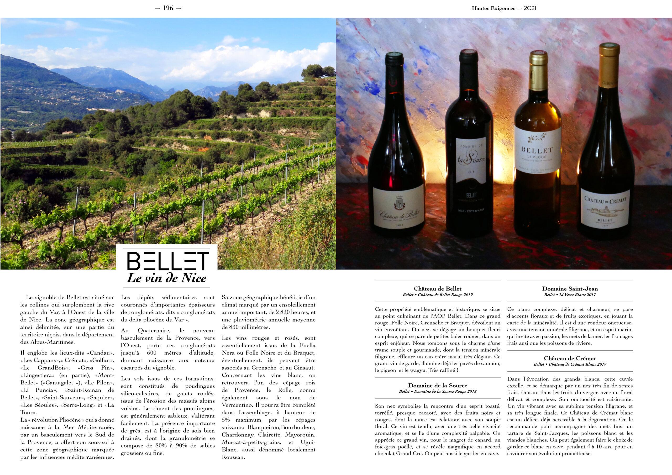 Hautes Exigences Magazine Hors Serie 2021 page 194-195